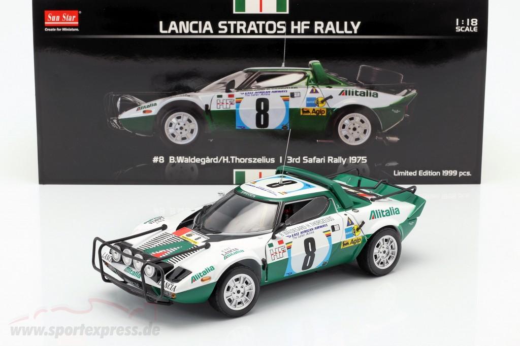 Lancia Stratos HF #8 3rd Safari Rallye 1975 Waldegard, Thorszelius  SunStar