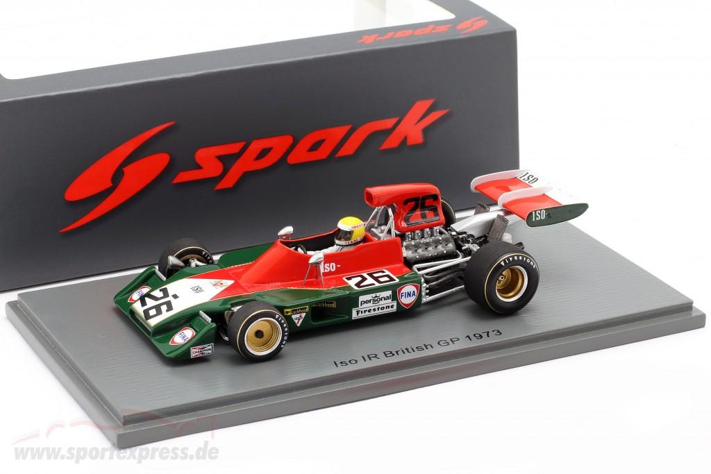 Iso-Marlboro IR Ford Graham McRae Formel 1 British GP 1973  1:43 Spark 7572 NEU