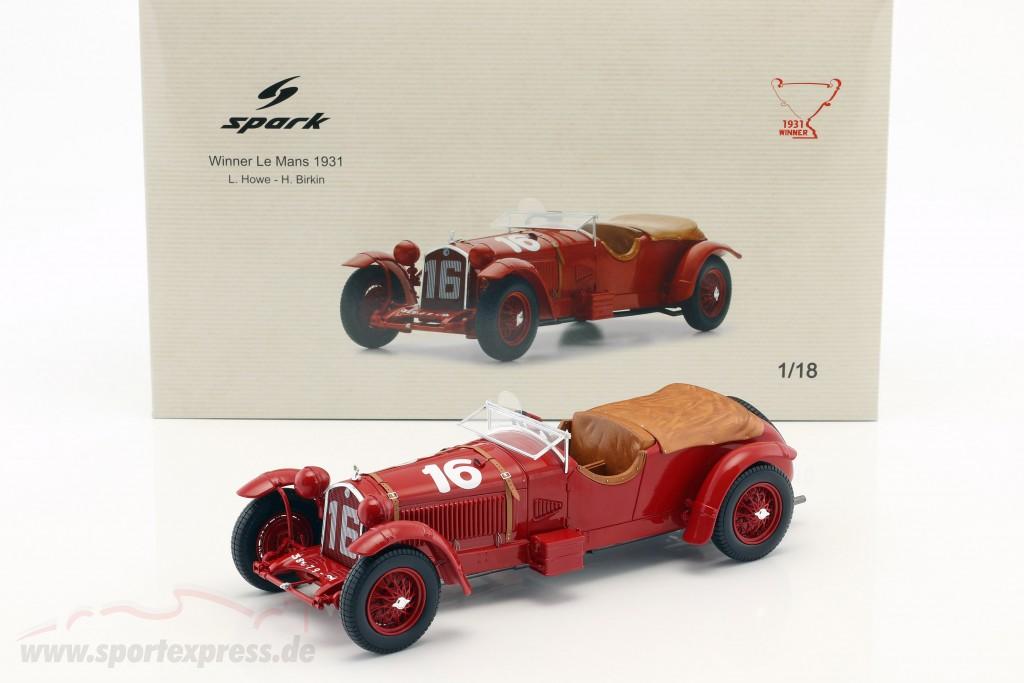 Alfa Romeo 8C 2300 LM #16 Winner 24h LeMans 1931 Howe, Birkin   / 2. choice