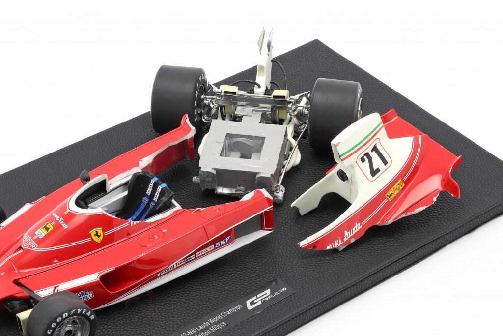 Niki Lauda Ferrari 312T #12 World Champion formula 1 1975   / 2. choice
