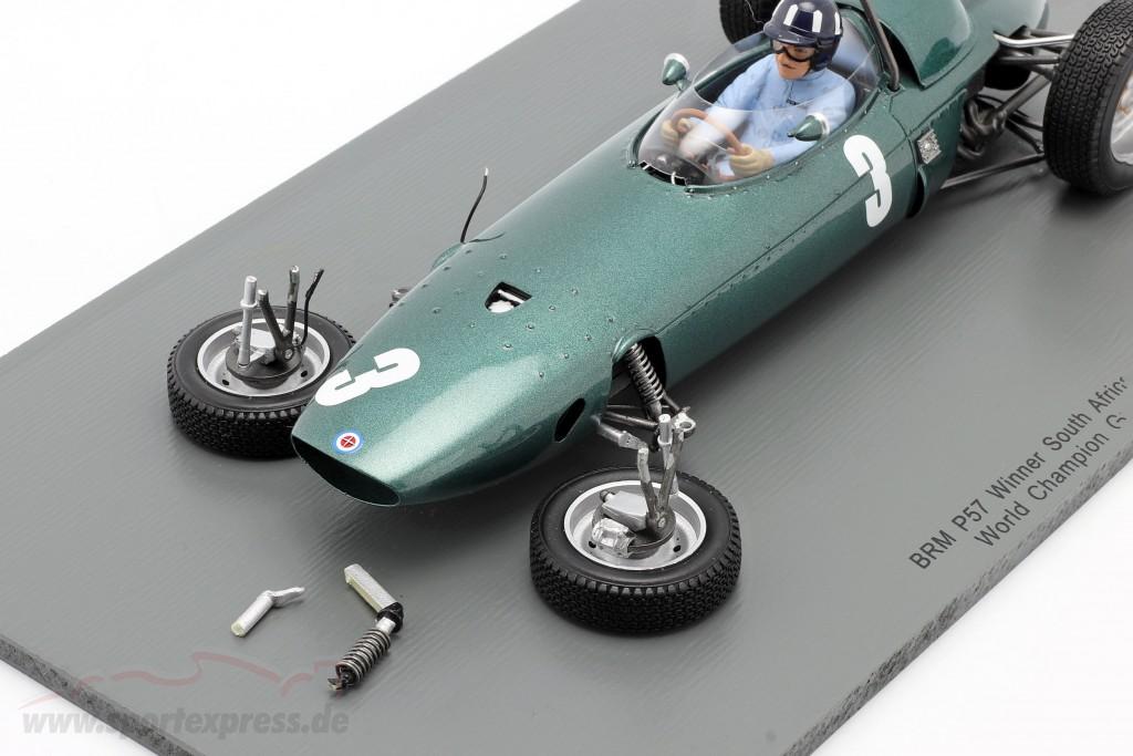 Graham Hill BRM P57 #3 World Champion South Africa GP formula 1 1962   / 2. choice