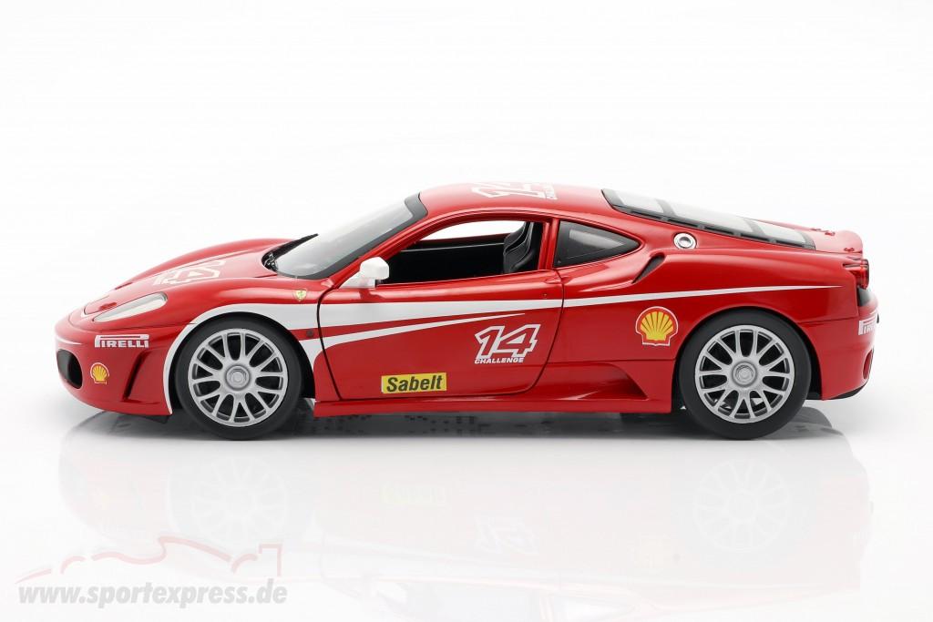 Ferrari F430 Challenge 14 Year 2005 Red P4403 Ean 027084740127