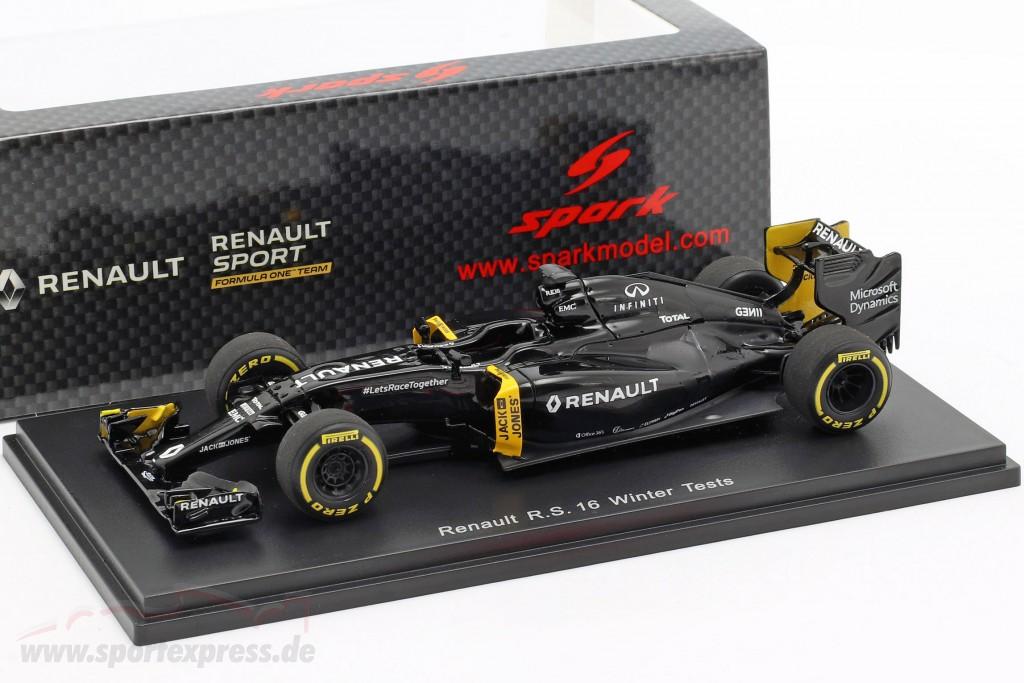 K. Magnussen & J. Palmer Renault R.S.16 Winter Testing formula 1 2016