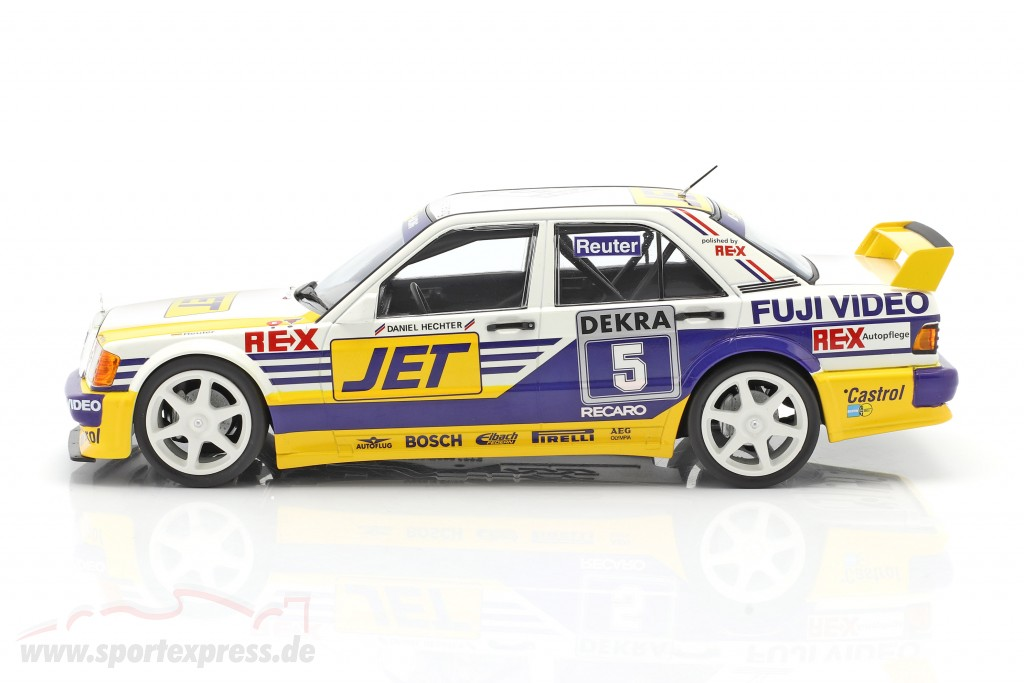 Mercedes-Benz 190E 2.5-16 Evo 1 #5 DTM 1989 Manuel Reuter