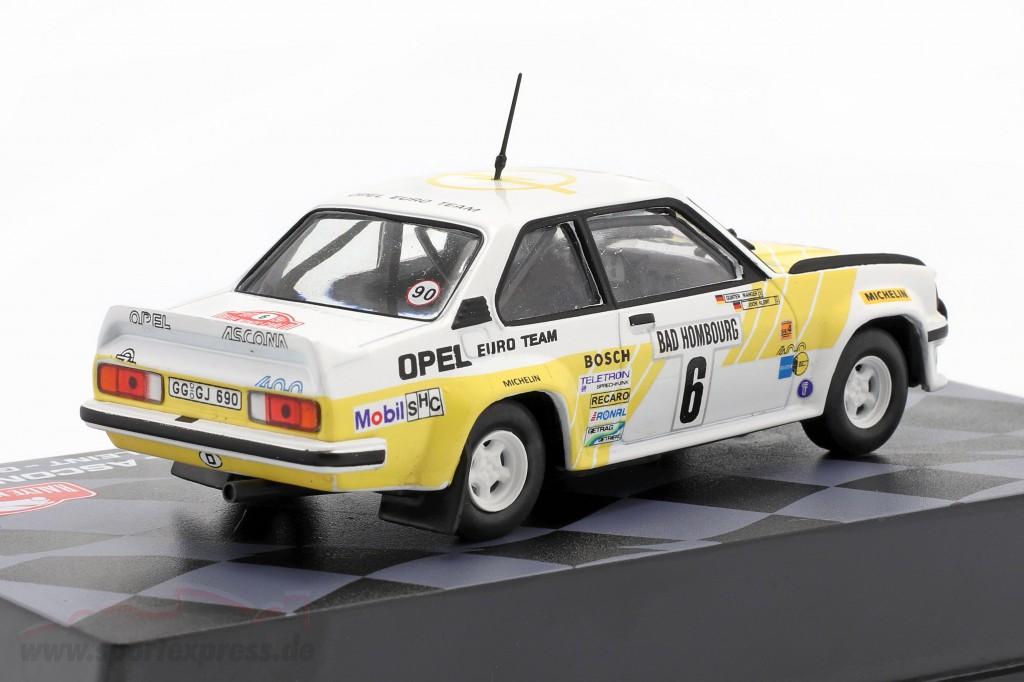 Opel Ascona 400 #6 3rd Rallye Monte Carlo 1981 Kleint, Wanger