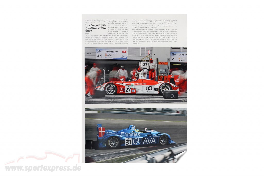 Book: Porsche RS Spyder 2008 / by U. Upietz