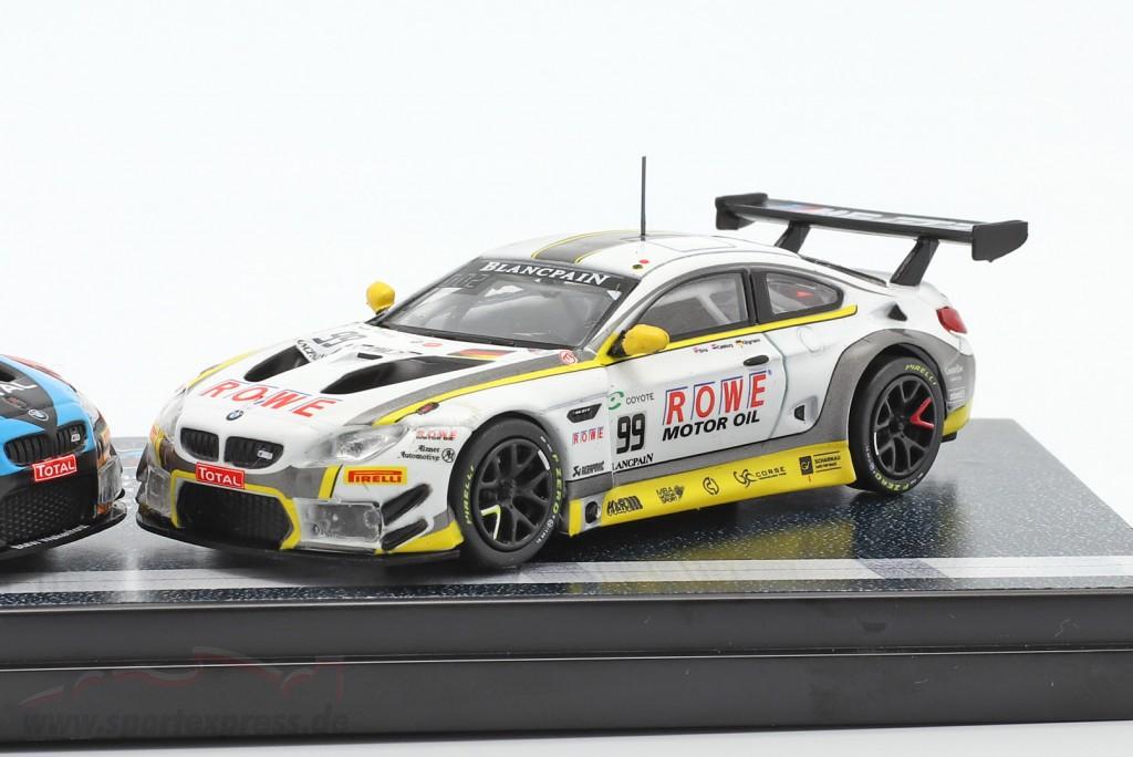 2-Car Set BMW M6 GT3 #99 & #34 Double winners 24h Spa 2018