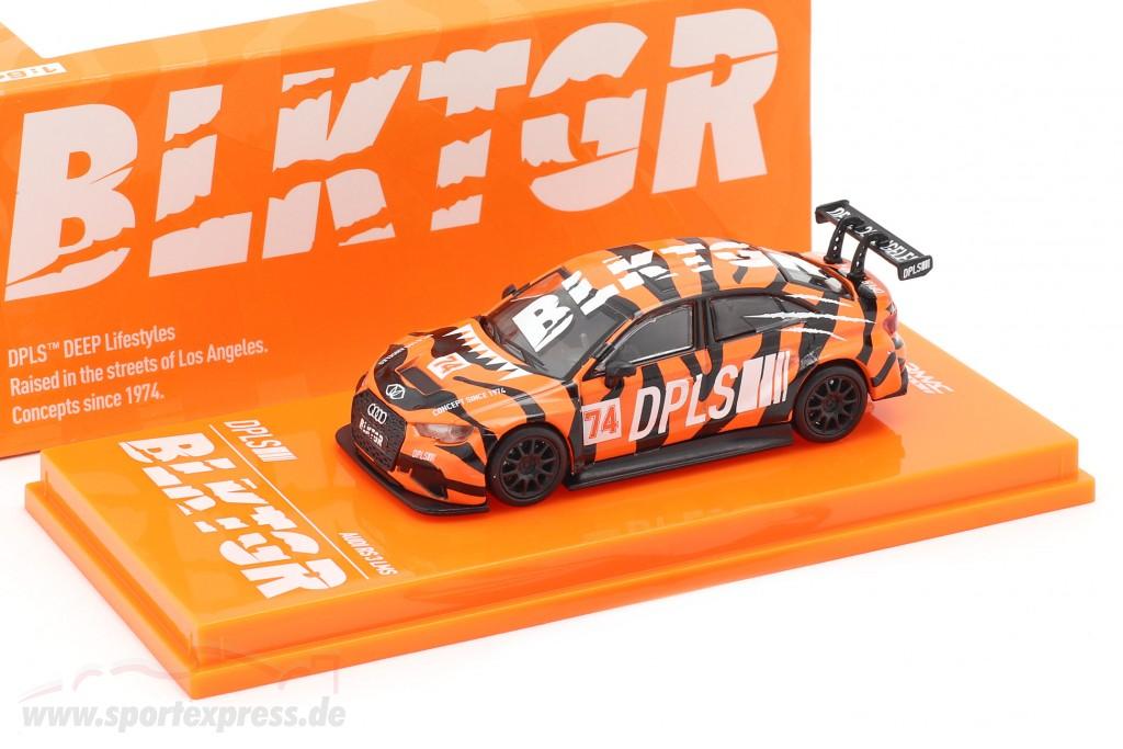 Audi RS3 LMS #74 DPLS Special Edition orange / black