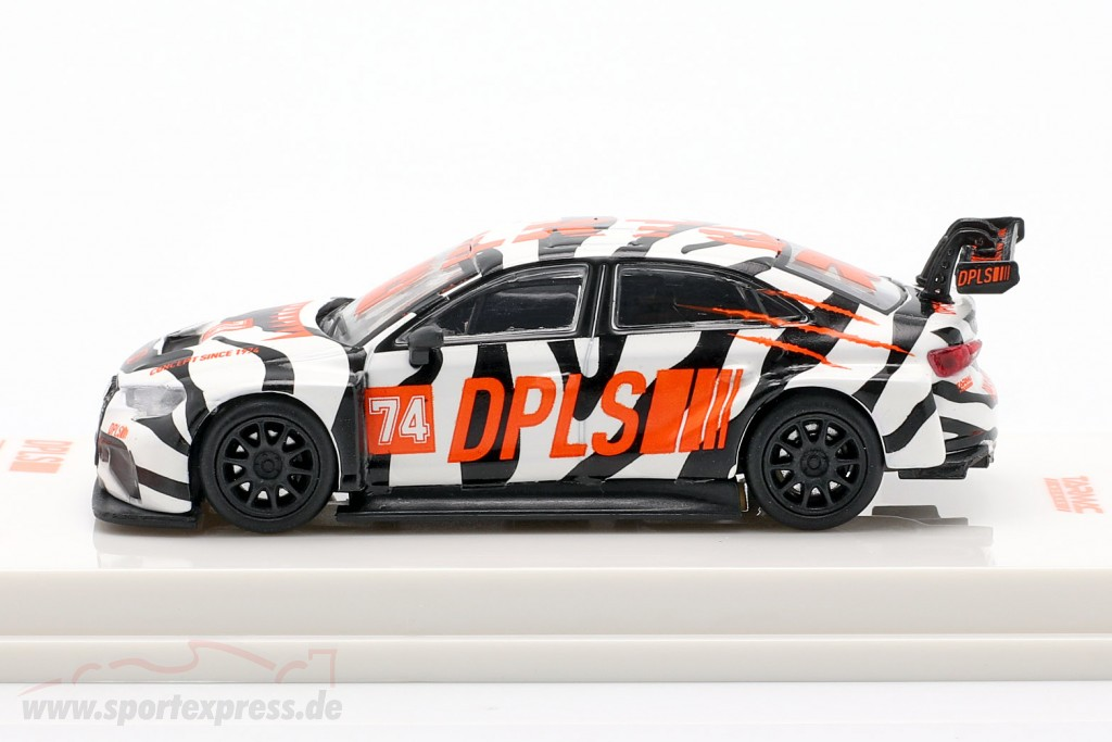 Audi RS3 LMS #74 DPLS Special Edition white / black / orange