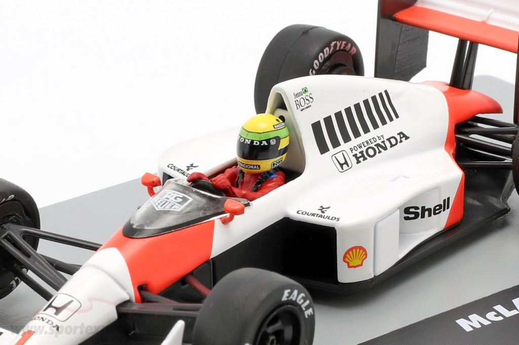 A. Senna McLaren MP4/5 #1 Winner Germany GP F1 1989