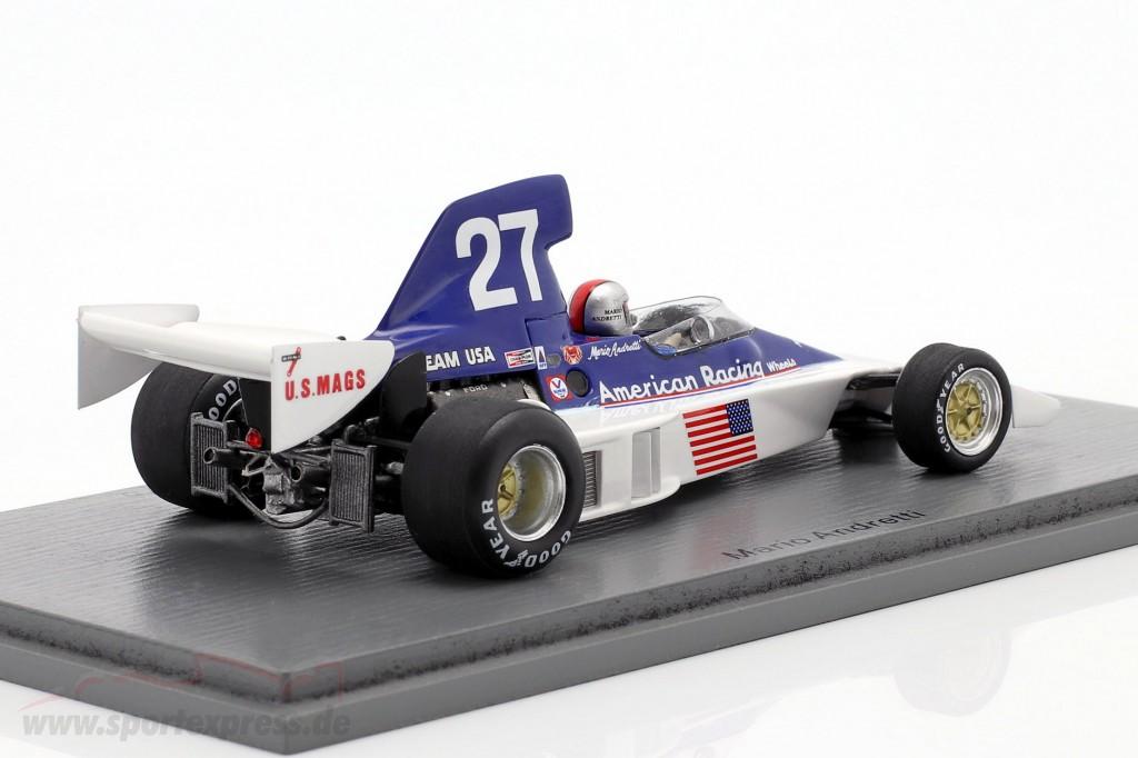 Parnelli Ford VP J4B Mario Andretti Formel 1 USA Long Beach 1976 1:43 Spark 1891