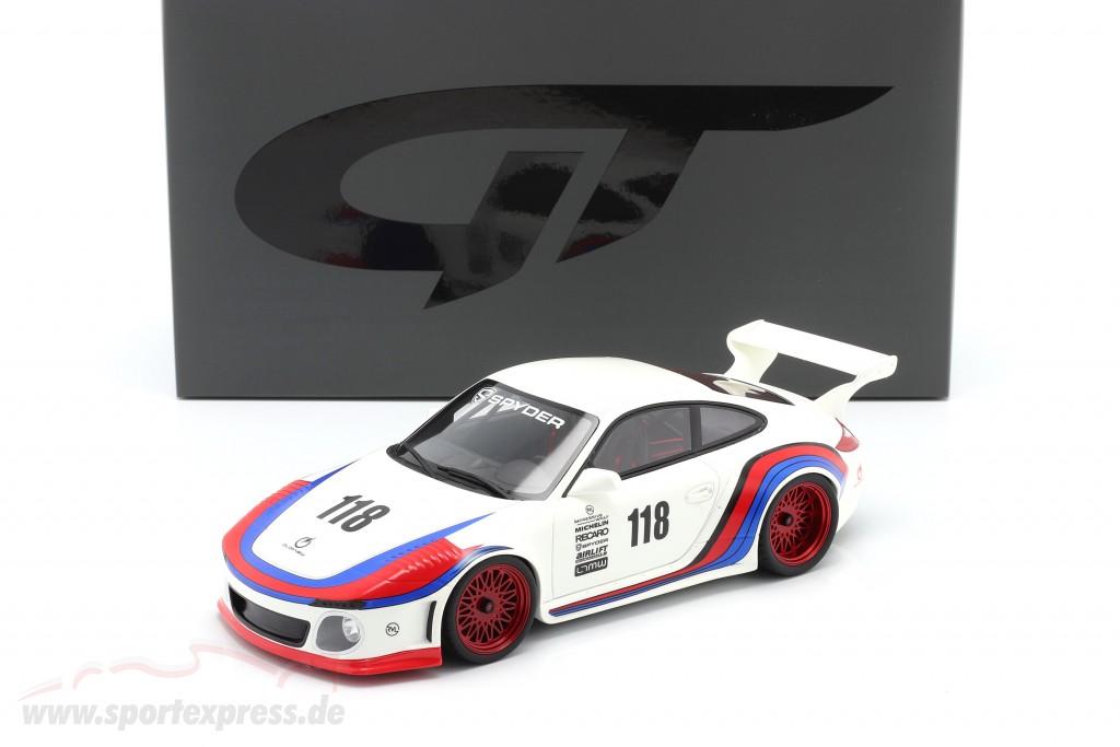 Porsche 911 (997 II) #118 OLD & NEW 935 Martini Look 2018  GT-Spirit