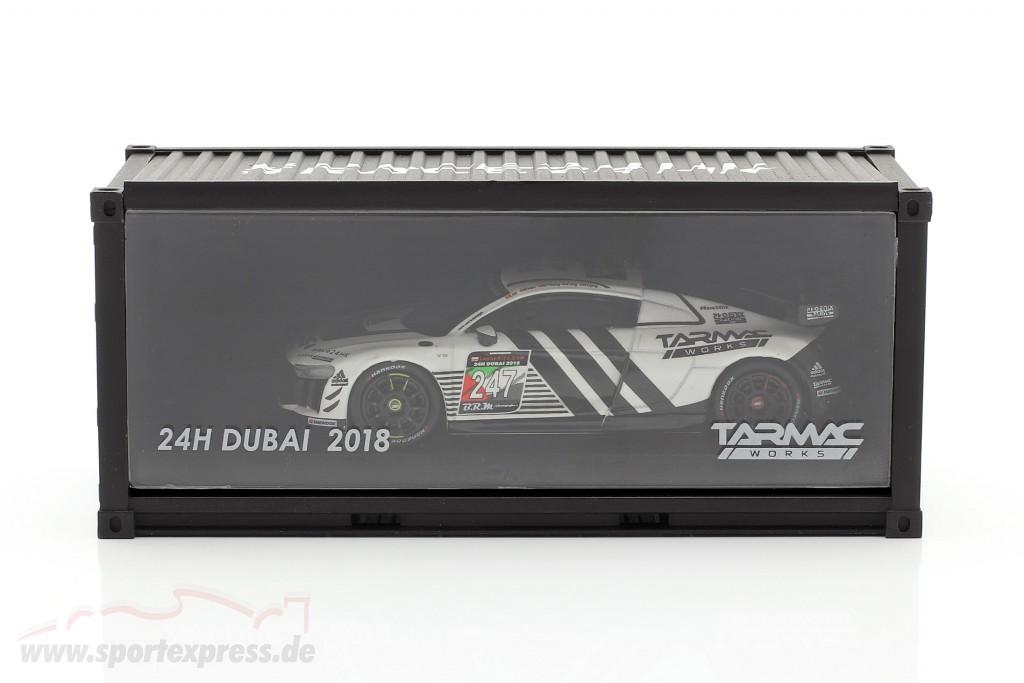Audi R8 LMS GT4 #247 Presentation Car 24h Dubai 2018