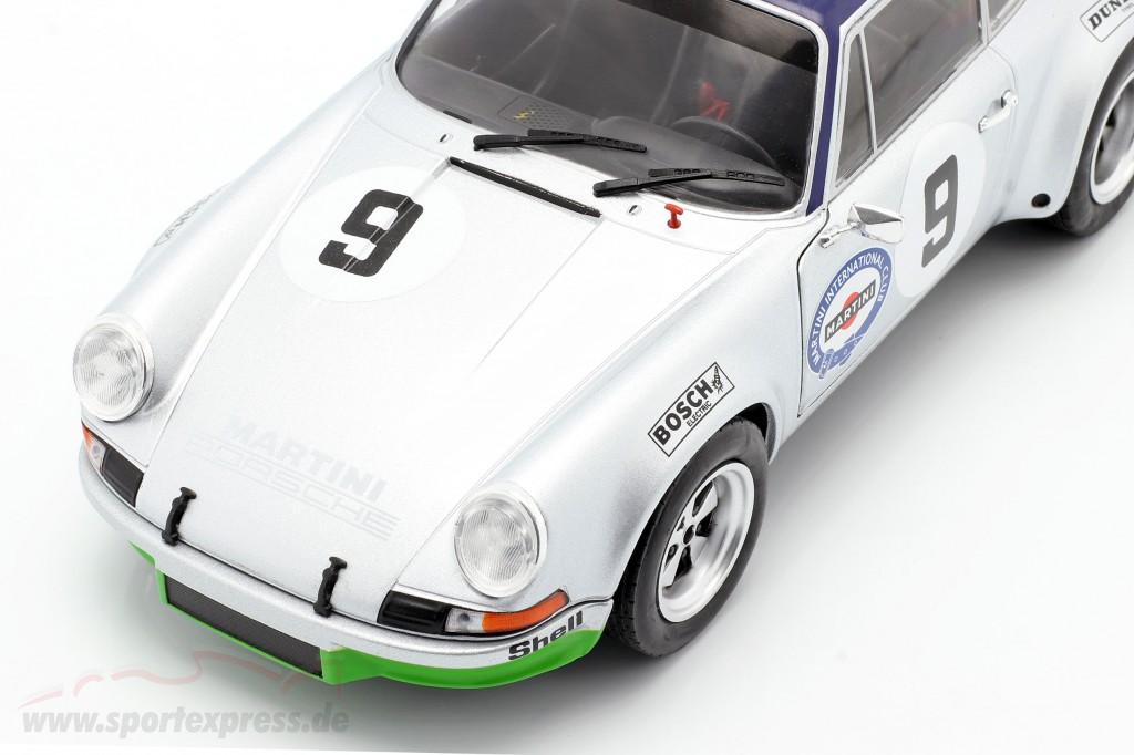 Haldi 1:18 Solido Porsche 911 Carrera RSR 2.8 #9 3rd Targa Florio 1973 Kinnunen