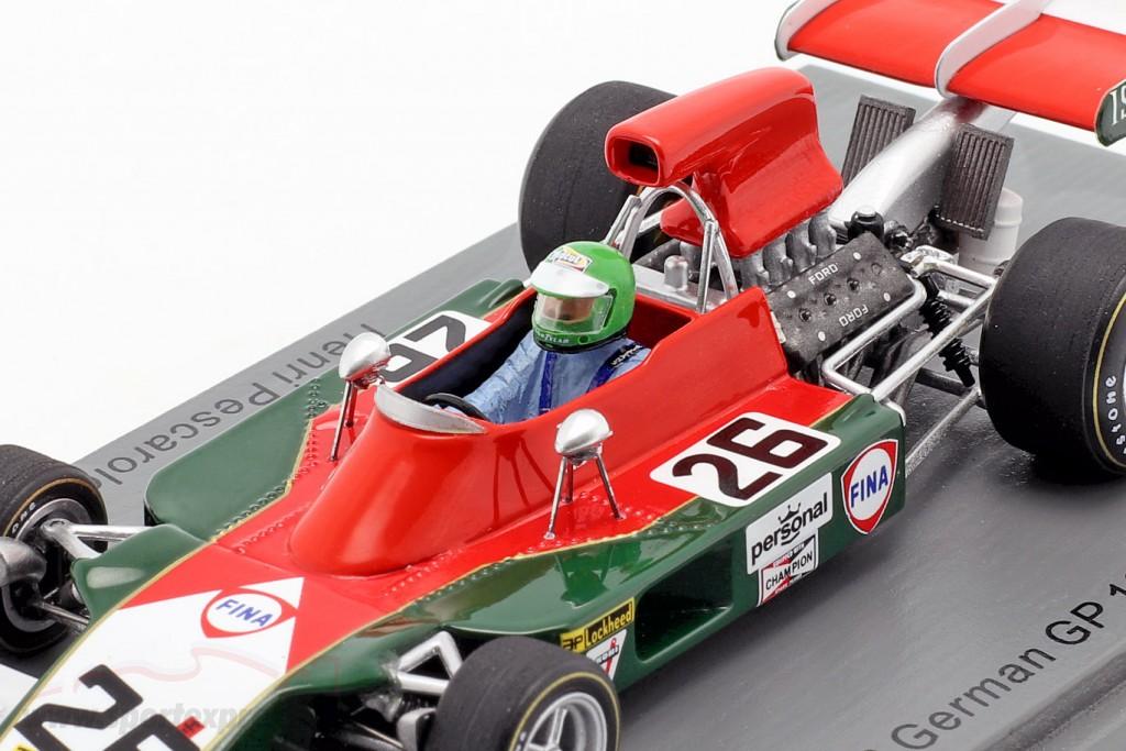 Henri Pescarolo Iso-Marlboro IR1 #26 German GP formula 1 1973