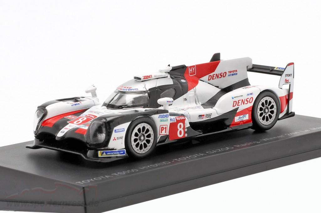 Toyota TS050 Hybrid Winner 24h Le Mans 2019 Buemi Alonso 1:64 Spark Y139 NEU