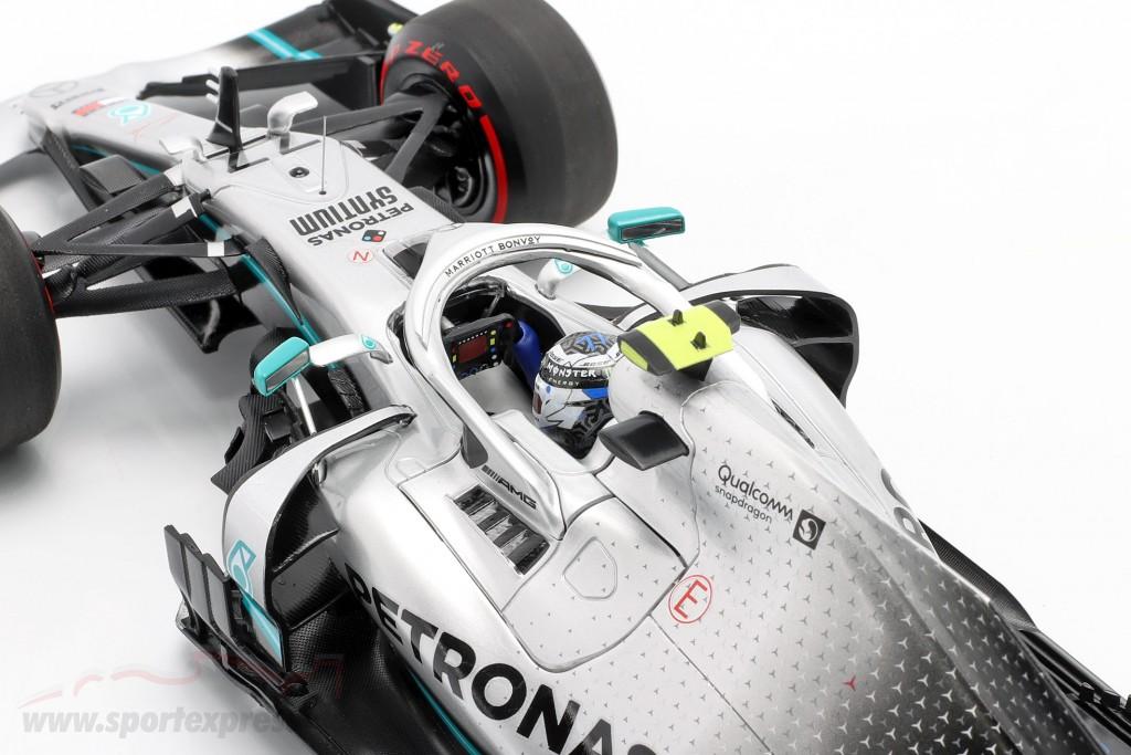 V. Bottas Mercedes-AMG F1 W10 #77 Great Britain GP F1 2019