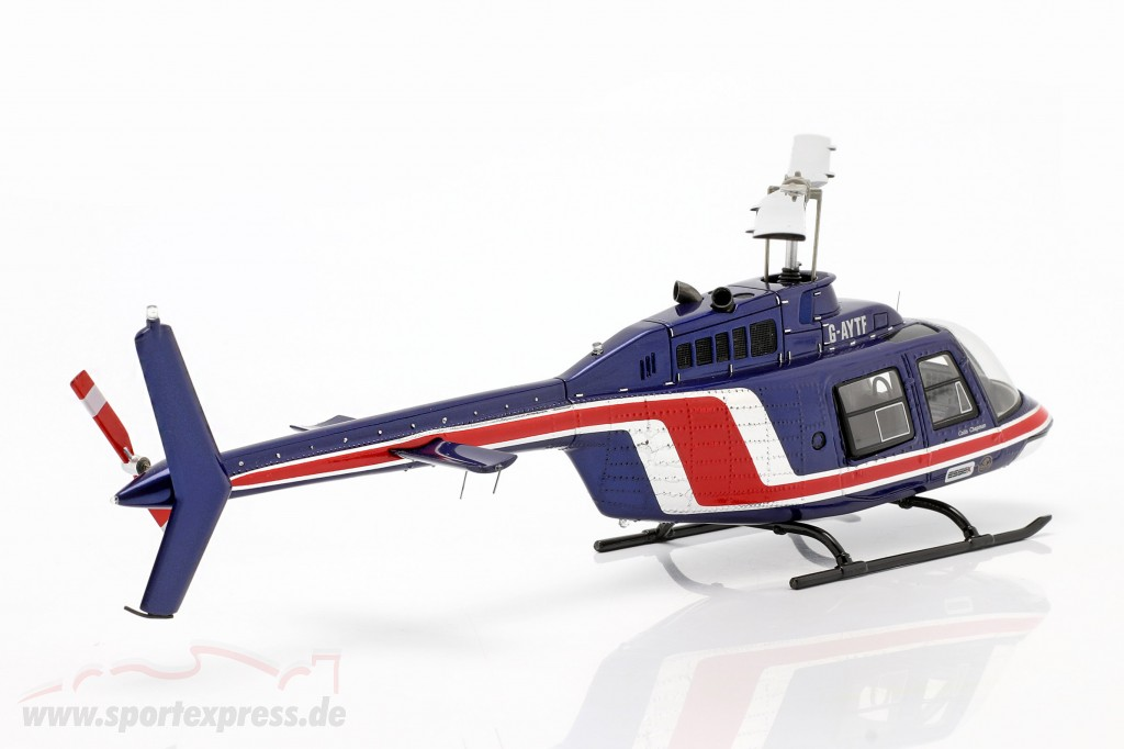 Team Lotus Formula 1 1981 Helicopter Essex team blue / red