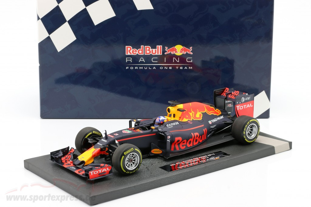 Daniel Ricciardo Red Bull RB12 #3 formula 1 2016