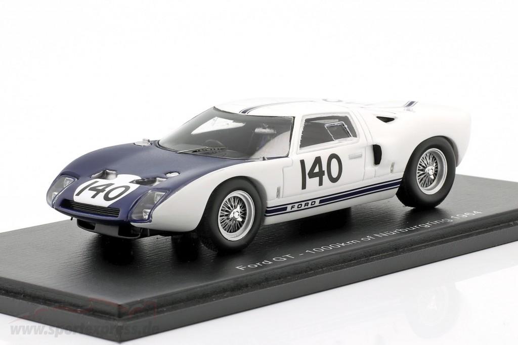 Ford GT40 #140 1000km Nürburgring 1964 Hill, McLaren