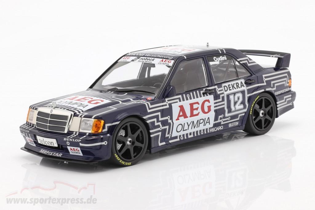 Mercedes-Benz 190E 2.5-16 Evo 1 #12 DTM 1989 Alain Cudini