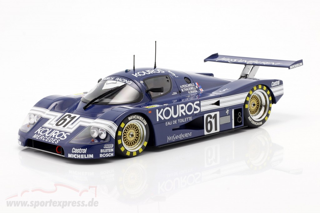 Sauber-Mercedes C9 #61 24h LeMans 1987 Kouros Racing