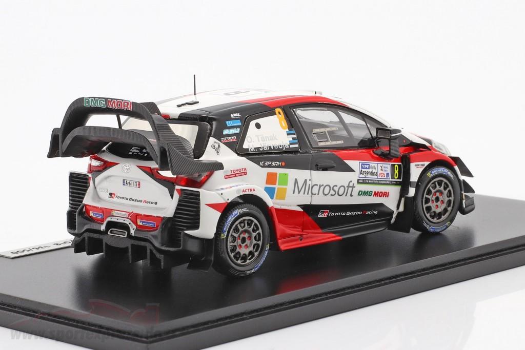 Toyota Yaris WRC #8 Winner Rallye Argentina 2018 Tänak, Järveoja