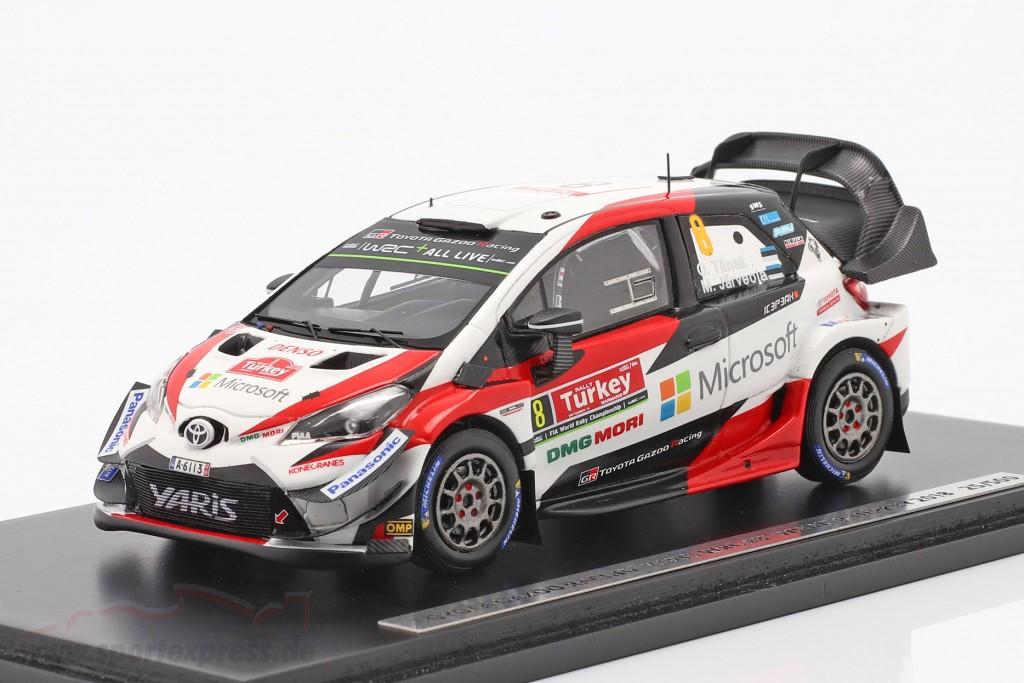 Toyota Yaris WRC #8 winner Rallye Turkey 2018 Tänak, Järveoja