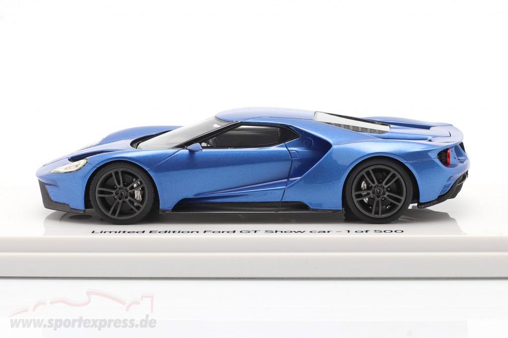 Ford GT Showcar blue metallic