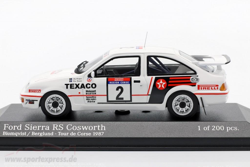 Ford Sierra RS Cosworth #2 Tour de Corse 1987 Blomqvist, Berglund