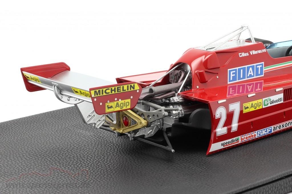 Gilles Villeneuve Ferrari 126CK #27 Formel 1 1981   / 2. choice