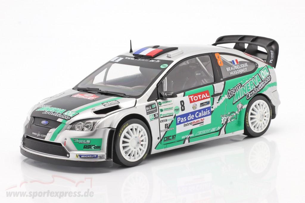 Ford Focus RS WRC #8 4th Rallye du Touquet 2012 Beaubelique, Hugonnot  SunStar