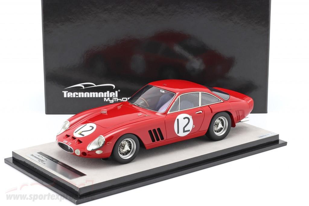 Ferrari 330lmb 12 24h Lemans 1963 Sears Salmon Tm18 90b
