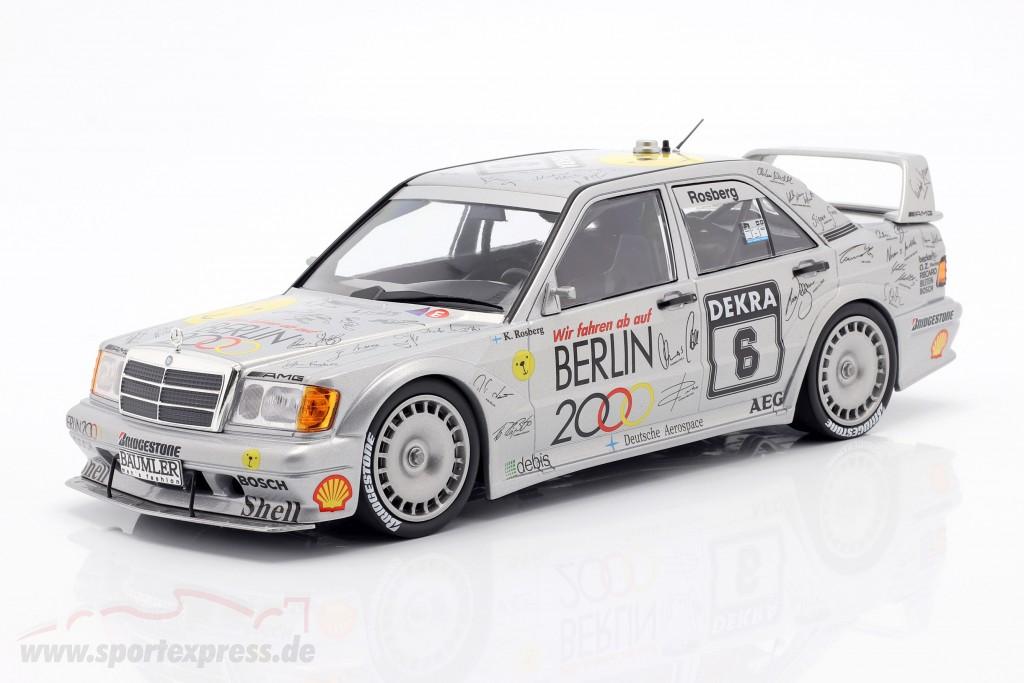 Mercedes-Benz 190E 2.5-16 Evo 2 #6 DTM 1992 Keke Rosberg