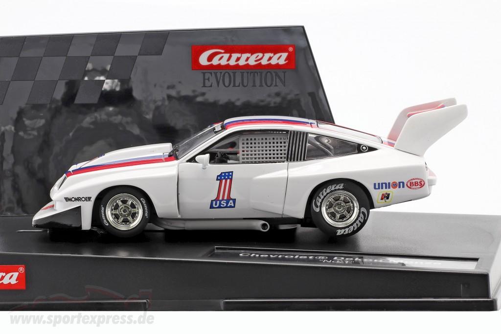 SlotCar Chevrolet Dekon Monza #1 white / blue / red   Evolution