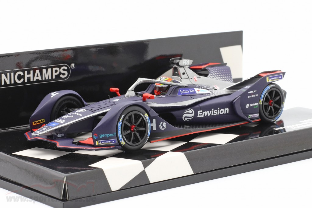 Robin Frijns Envision Virgin Racing #4 formula E 2019/20