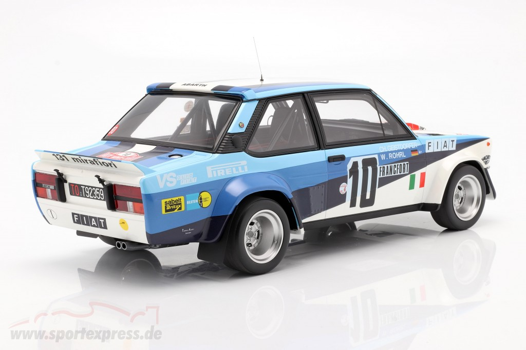 Fiat 131 Abarth #10 Winner Rally Monte Carlo 1980 Röhrl, Geistdörfer  OttOmobile