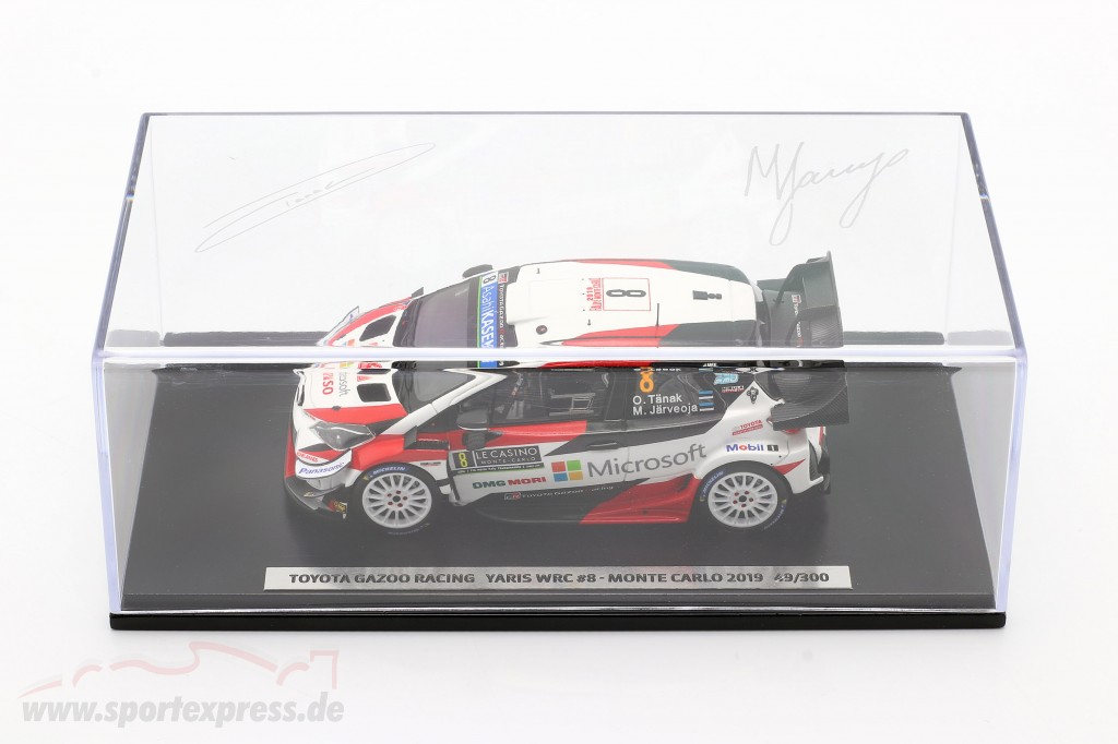 Toyota Yaris WRC #8 3rd Rallye Monte Carlo 2019 Tänak, Järveoja