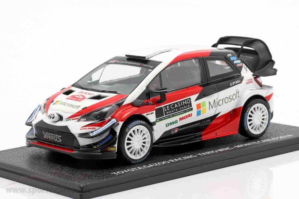 Toyota Yaris WRC Presentation Car Rallye Monte Carlo 2018