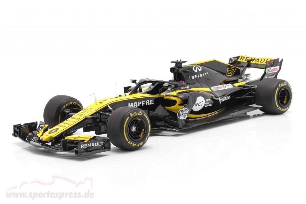 Nico Hülkenberg Renault R.S.18 #27 Launch Version formula 1 2018