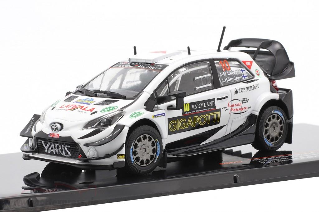 Toyota Yaris WRC #10 Rallye Sweden 2020 Latvala, Hänninen