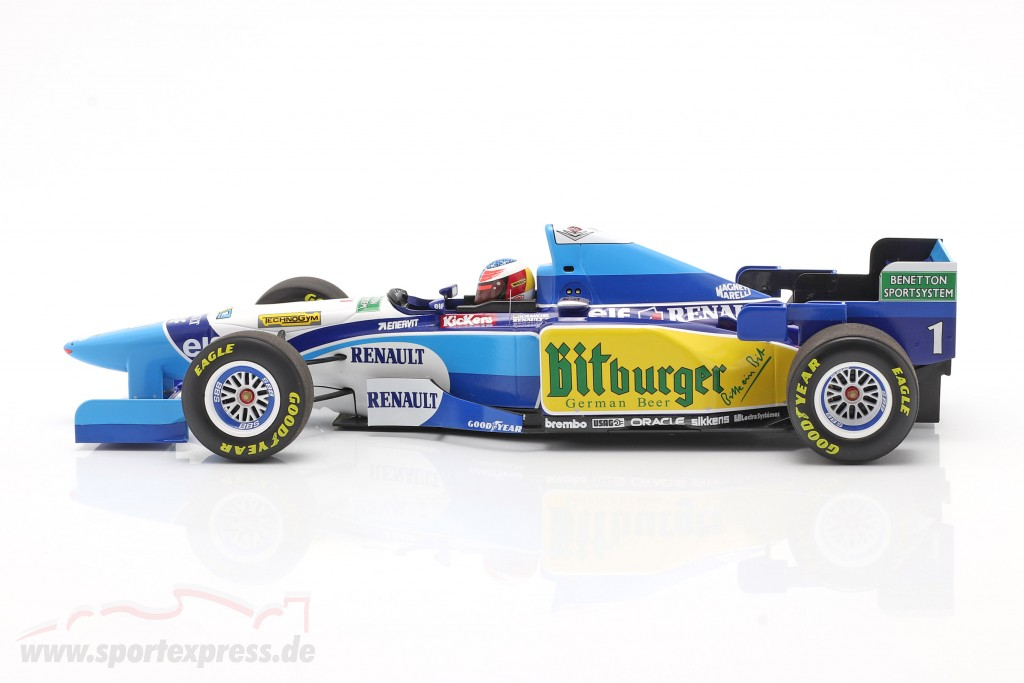 Michael Schumacher Benetton B195 #1 formula 1 World Champion 1995