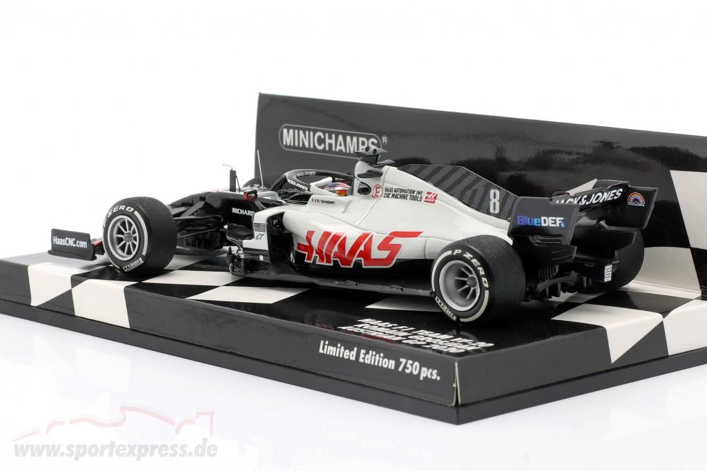 Romain Grosjean Haas VF-20 #8 Austrian GP formula 1 2020