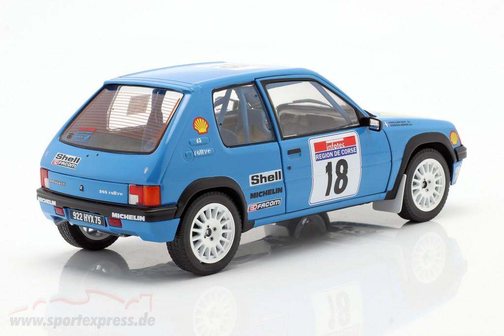 Peugeot 205 #18 Rallye Tour de Corse 1990 Vericel, Chollier