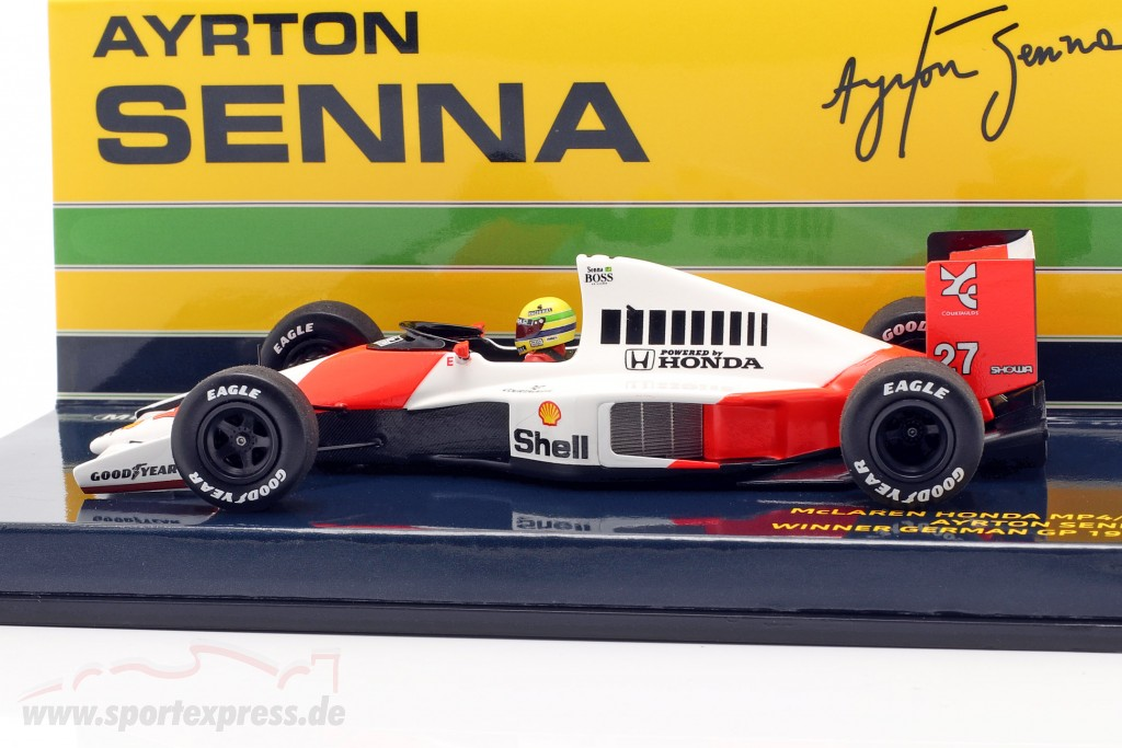 Ayrton Senna McLaren MP4/5B #27 German GP F1 World Champion 1990