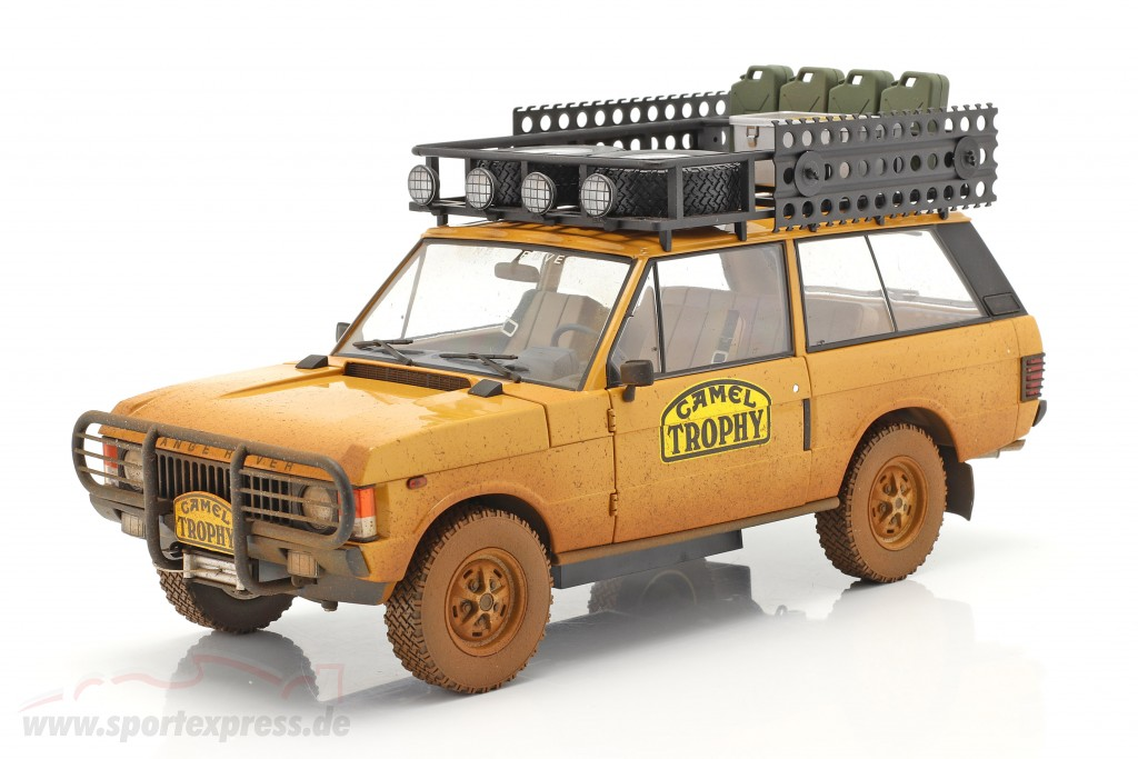 Land Rover Range Rover Camel Trophy Papua New Guinea 1982 Dirty Version