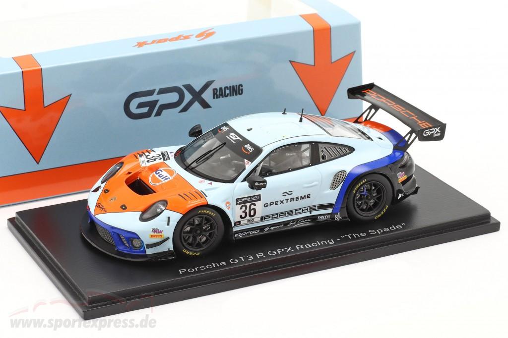 Porsche 911 GT3 R GPX Gulf #36 winner Coppa Florio 12h Sizilien 2020