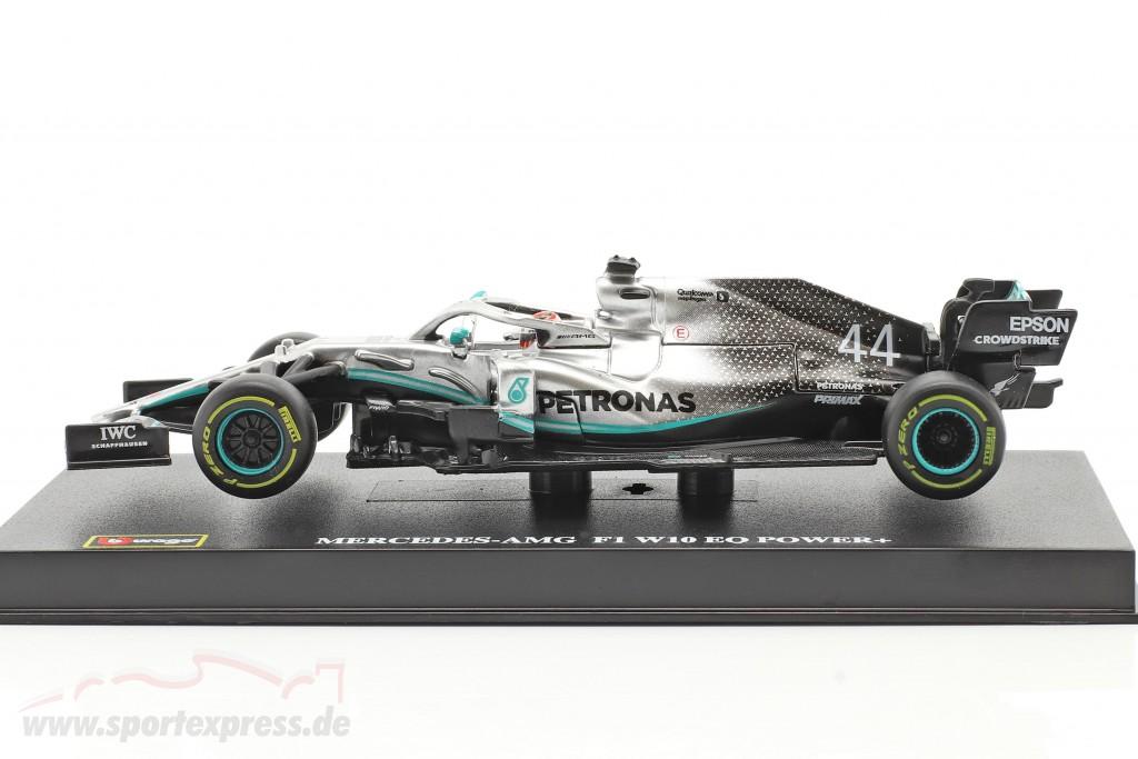 Lewis Hamilton Mercedes-AMG F1 W10 EQ #44 formula 1 World Champion 2019