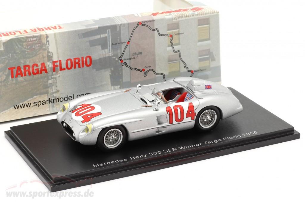 Mercedes-Benz 300 SLR #104 winner Targa Florio 1955 Moss, Collins