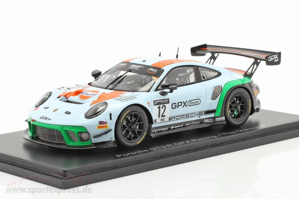 Porsche 911 GT3 R GPX Racing Gulf #12 GT World Challenge 2020
